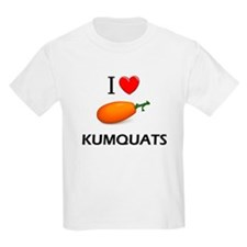 I Love Kumquats T-Shirt