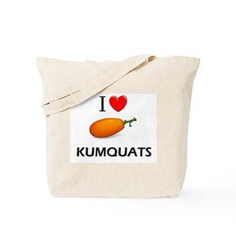 I Love Kumquats Tote Bag