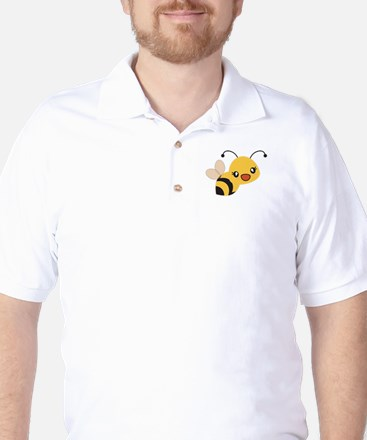 Cute Bumble Bee Golf Shirt
