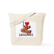 I Love Legumes Tote Bag