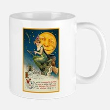 Halloween Witches Riding By Mug