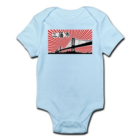 San Francisco USA Infant Creeper