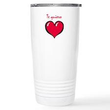 Te quiero Travel Mug