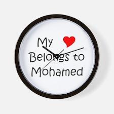 Funny Mohamed Wall Clock