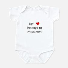 Cute Mohamed Infant Bodysuit
