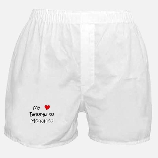Unique Mohamed Boxer Shorts