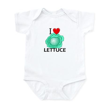 I Love Lettuce Infant Bodysuit
