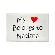 Cool Natisha Rectangle Magnet