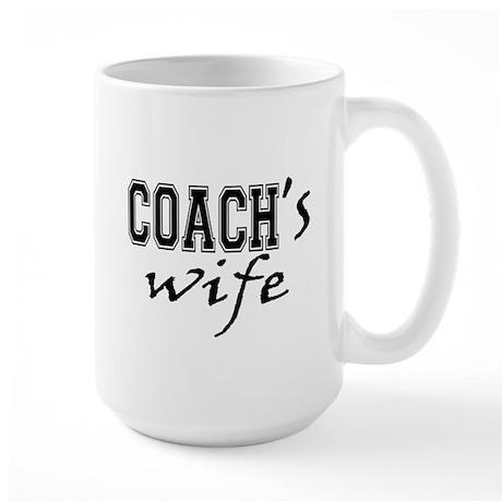 Coach's Wife Large Mug