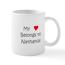 Unique Heart nathanial Mug