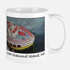 Great Diamond Island Ferry Mug