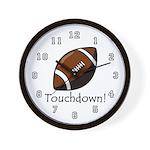 Touchdown! Wall Clock