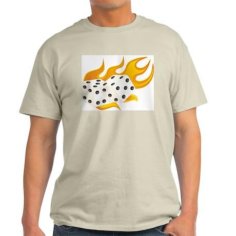 Flaming Dice Light T-Shirt