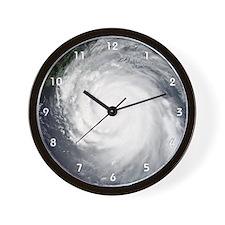 Hurricane Katrina Wall Clock (white numbers)