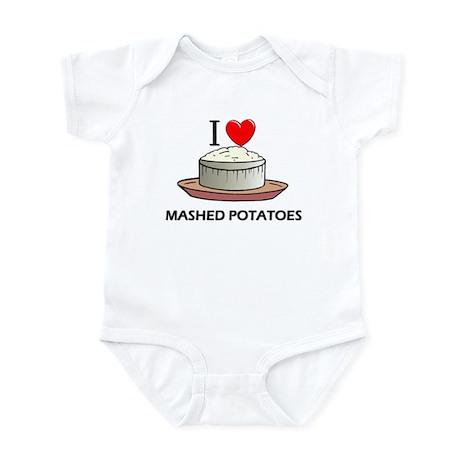 I Love Mashed Potatoes Infant Bodysuit