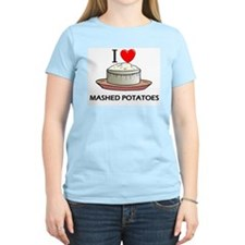 I Love Mashed Potatoes T-Shirt