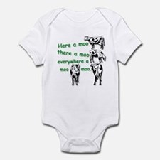 Cute Old mcdonald Infant Bodysuit