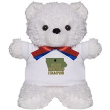 Iowa State Cornhole Champion Teddy Bear