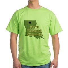 Louisiana State Cornhole Cham T-Shirt