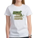 Massachusettes State Cornhole Women's T-Shirt