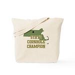 Massachusettes State Cornhole Tote Bag