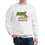 Massachusettes State Cornhole Sweatshirt