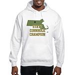 Massachusettes State Cornhole Hooded Sweatshirt