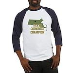 Massachusettes State Cornhole Baseball Jersey