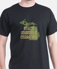 Michigan State Cornhole Champ T-Shirt