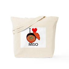 I Love Miso Tote Bag