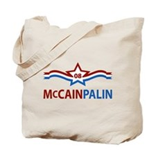 McCain Palin Star Tote Bag