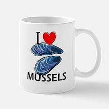 I Love Mussels Mug