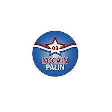 McCain Palin Star Mini Button