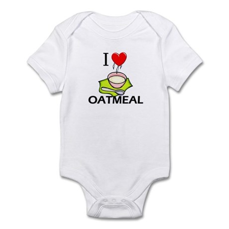I Love Oatmeal Infant Bodysuit