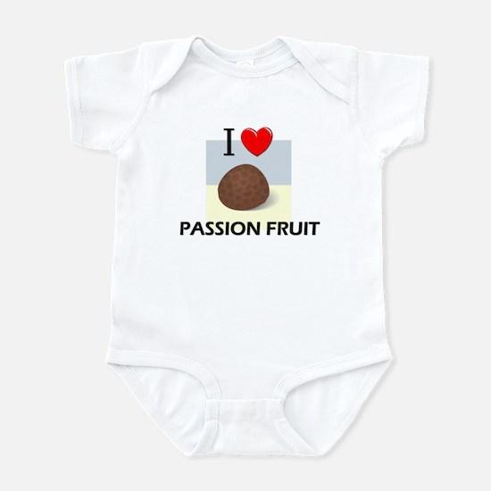 I Love Passion Fruit Infant Bodysuit