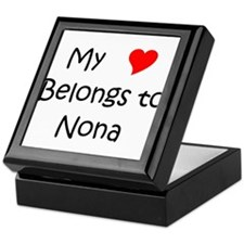 Unique Nona Keepsake Box