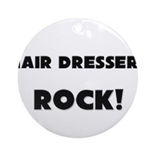 Hair Dressers ROCK Ornament (Round)