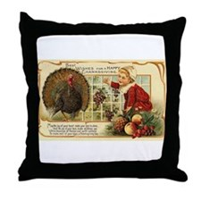 Thanksgiving Wishes Throw Pillow