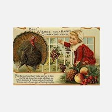 Thanksgiving Wishes Rectangle Magnet