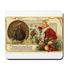 Thanksgiving Wishes Mousepad