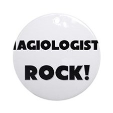 Hagiologists ROCK Ornament (Round)