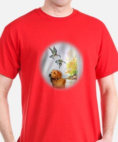 Duck Toller with geese T-Shirt