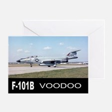 F-101 VOODOO FIGHTER Greeting Card