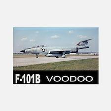 F-101 VOODOO FIGHTER Rectangle Magnet (10 pack)