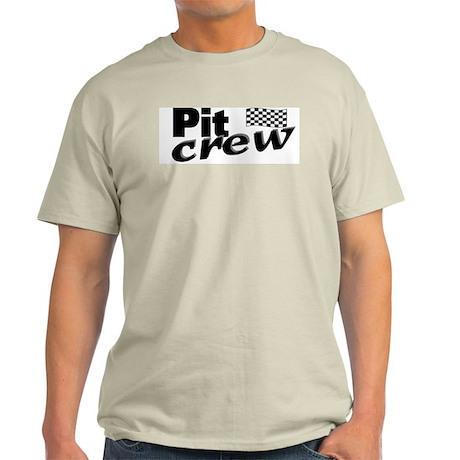 Pit Crew Racing Flag Light T-Shirt