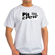 Pit Crew Racing Flag T-Shirt