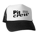 Pit crew Trucker Hats