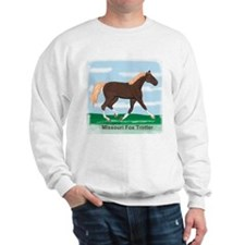 Missouri Fox Trot Horse Sweatshirt