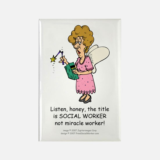Miracle Worker Rectangle Magnets (10 pack)