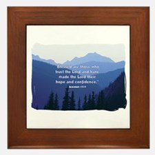 Hope in the Lord Framed Tile